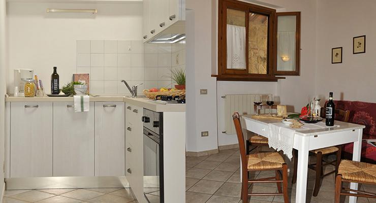 Casa Vecchia - Cucina - Salotto