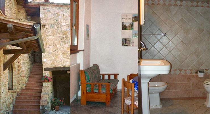 Casa Vecchia - Ingresso - Salotto - Bagno