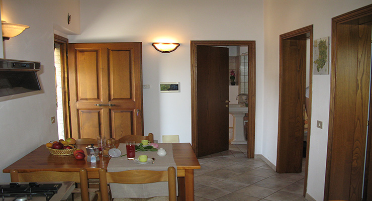 Granaio - Cucina - Bagno
