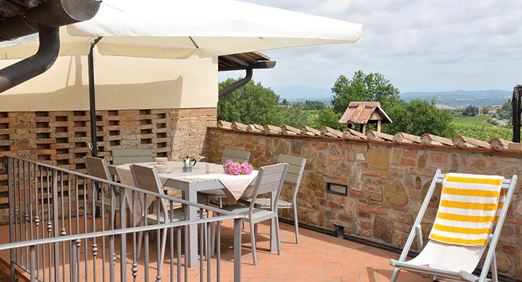 Apartment Terrazza - Agriturismo Renai & Monte